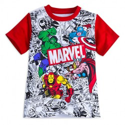 Camiseta Comics Marvel